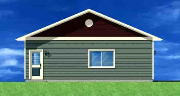 3 Car Garage Plan 90882 Picture 1