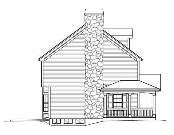 Cape Cod, Colonial, Country, Farmhouse House Plan 95822 with 4 Beds, 4 Baths, 2 Car Garage Picture 1