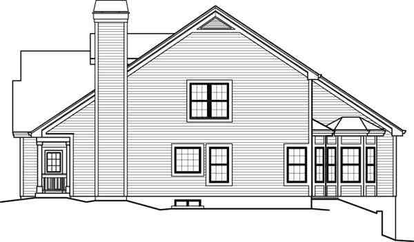 Contemporary, Country House Plan 95849 with 5 Beds, 6 Baths, 2 Car Garage Picture 2
