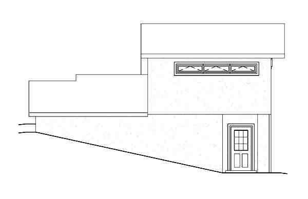 Contemporary, Earth Sheltered House Plan 95911 with 2 Beds, 2 Baths Picture 1