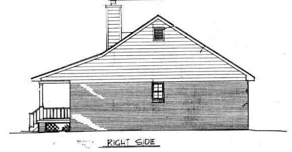 Cabin, Country, Ranch House Plan 96559 with 3 Beds, 2 Baths Picture 2