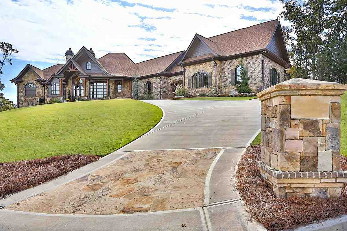 Craftsman, Ranch, Tuscan House Plan 97680 with 3 Beds, 4 Baths, 3 Car Garage Picture 1