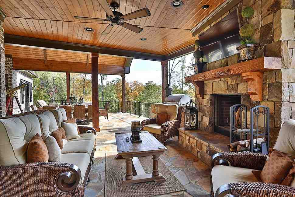 Craftsman, Ranch, Tuscan House Plan 97680 with 3 Beds, 4 Baths, 3 Car Garage Picture 17