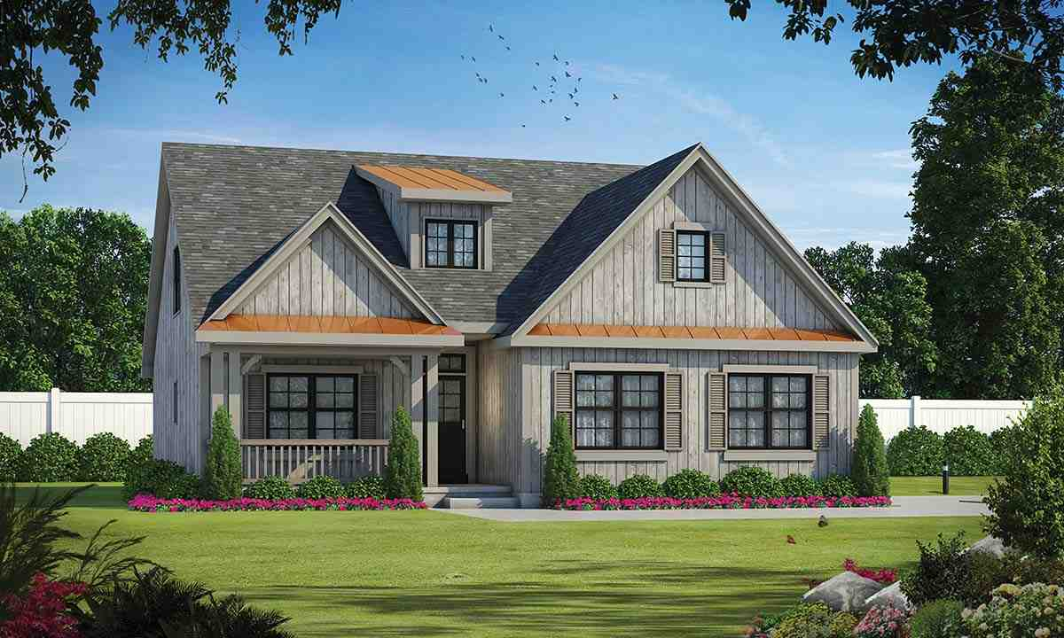 Country House Plan 97996 with 4 Beds, 4 Baths, 2 Car Garage Elevation
