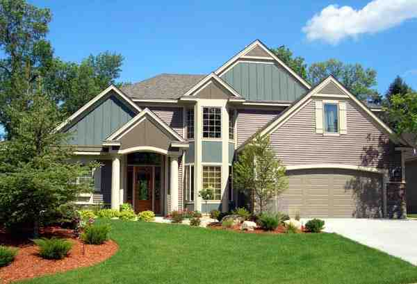 Cottage, Craftsman, Traditional House Plan 99325 with 3 Beds, 3 Baths, 2 Car Garage Elevation