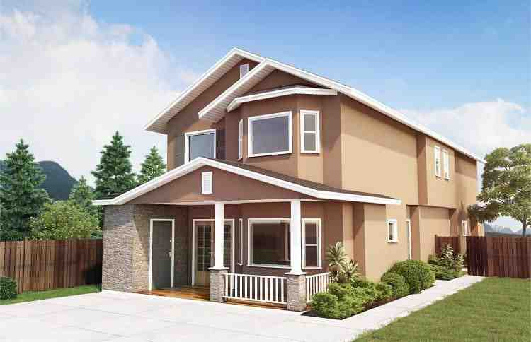 Multi-Family Plan 99958 with 6 Beds, 4 Baths Elevation