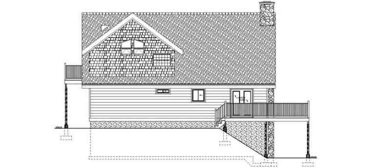 Contemporary, Traditional House Plan 99961 with 3 Beds, 2 Baths Picture 1