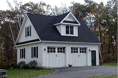 2 Car Garage Plan 67301 Elevation