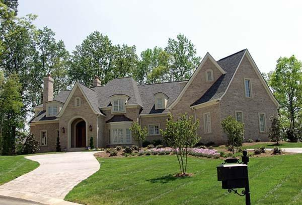 Country, European House Plan 85611 with 6 Beds, 9 Baths, 3 Car Garage Elevation