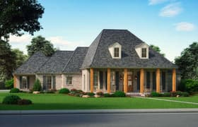 Plan Number 41403 - 2861 Square Feet