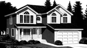 Plan Number 44811 - 1855 Square Feet