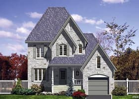 Plan Number 48124 - 1469 Square Feet