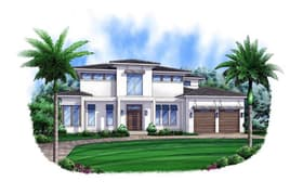 Plan Number 52905 - 4417 Square Feet