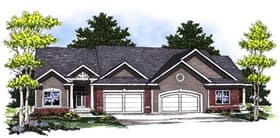 Plan Number 73033 - 2998 Square Feet