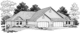 Plan Number 73480 - 2844 Square Feet