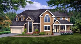 Plan Number 90666 - 2592 Square Feet