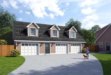 Garage Plan 30032