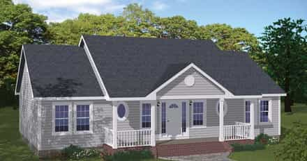 House Plan 40686