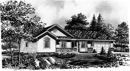 House Plan 44802