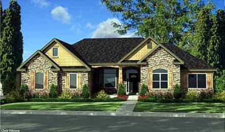 House Plan 44813