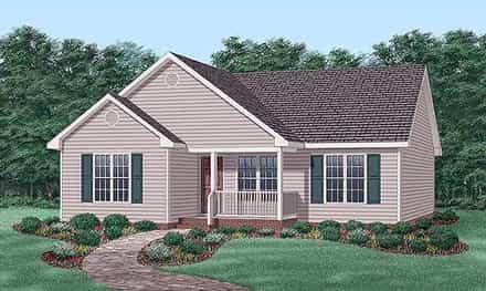 House Plan 45503
