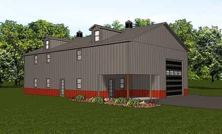 Garage Plan 50786