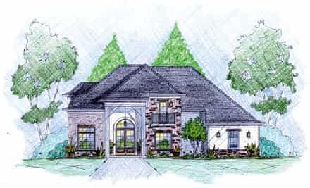 House Plan 56081