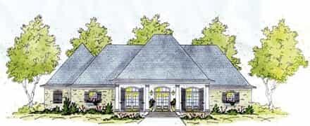 House Plan 56284