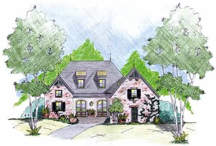 House Plan 56299