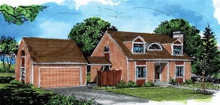 House Plan 57363