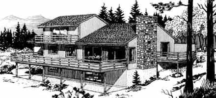 House Plan 57405
