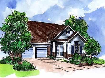 House Plan 57521