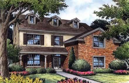 House Plan 63197