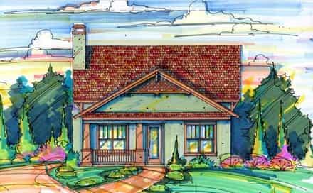 House Plan 64605