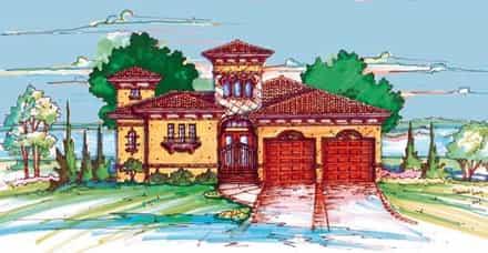 House Plan 64611