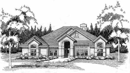House Plan 65840