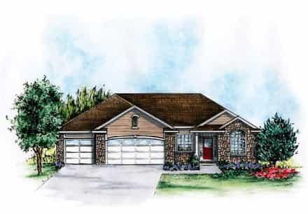 House Plan 66574