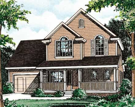 House Plan 68089