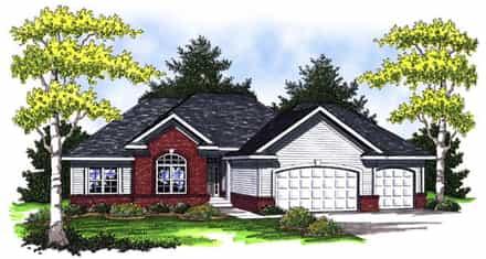 House Plan 73007