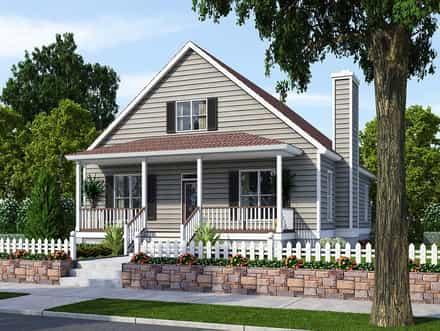 House Plan 74001