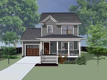 House Plan 75520