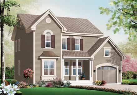 House Plan 76141