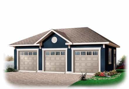 Garage Plan 76153