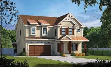 House Plan 80434