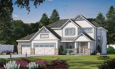 House Plan 80441