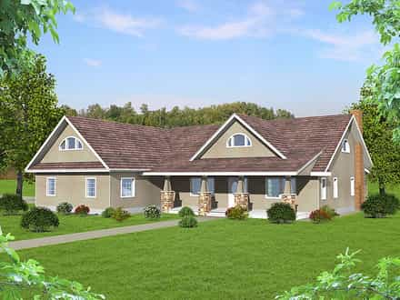 House Plan 85205