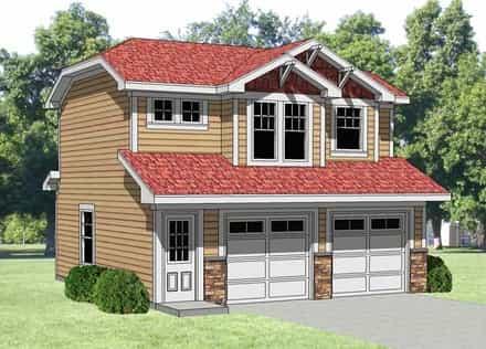 Garage Plan 94340