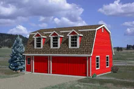 Garage Plan 94348