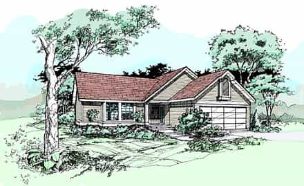 House Plan 99361
