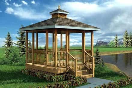 Gazebo and Poolhouse Plans